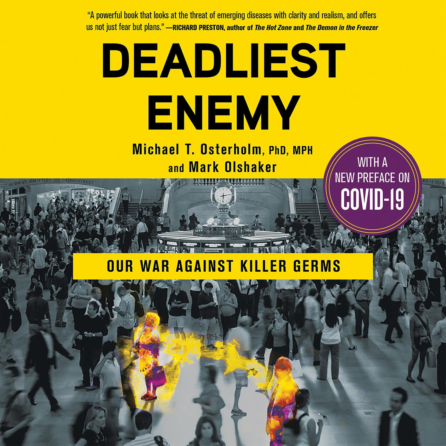 Printable Deadliest Enemy: Our War Against Killer Germs Audiobook Cover Art