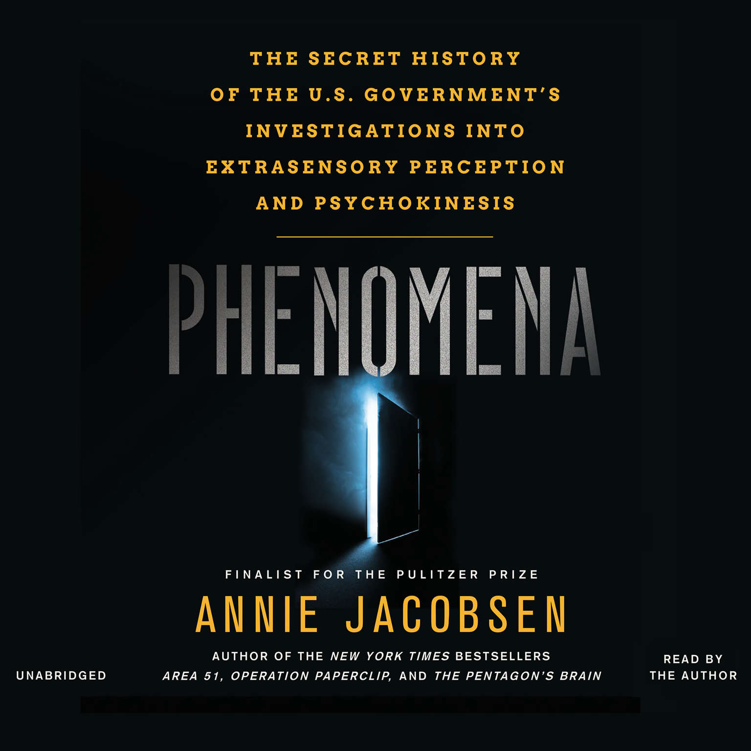 Printable Phenomena: The Secret History of the U.S. Government's Investigations into Extrasensory Perception and Psychokinesis Audiobook Cover Art