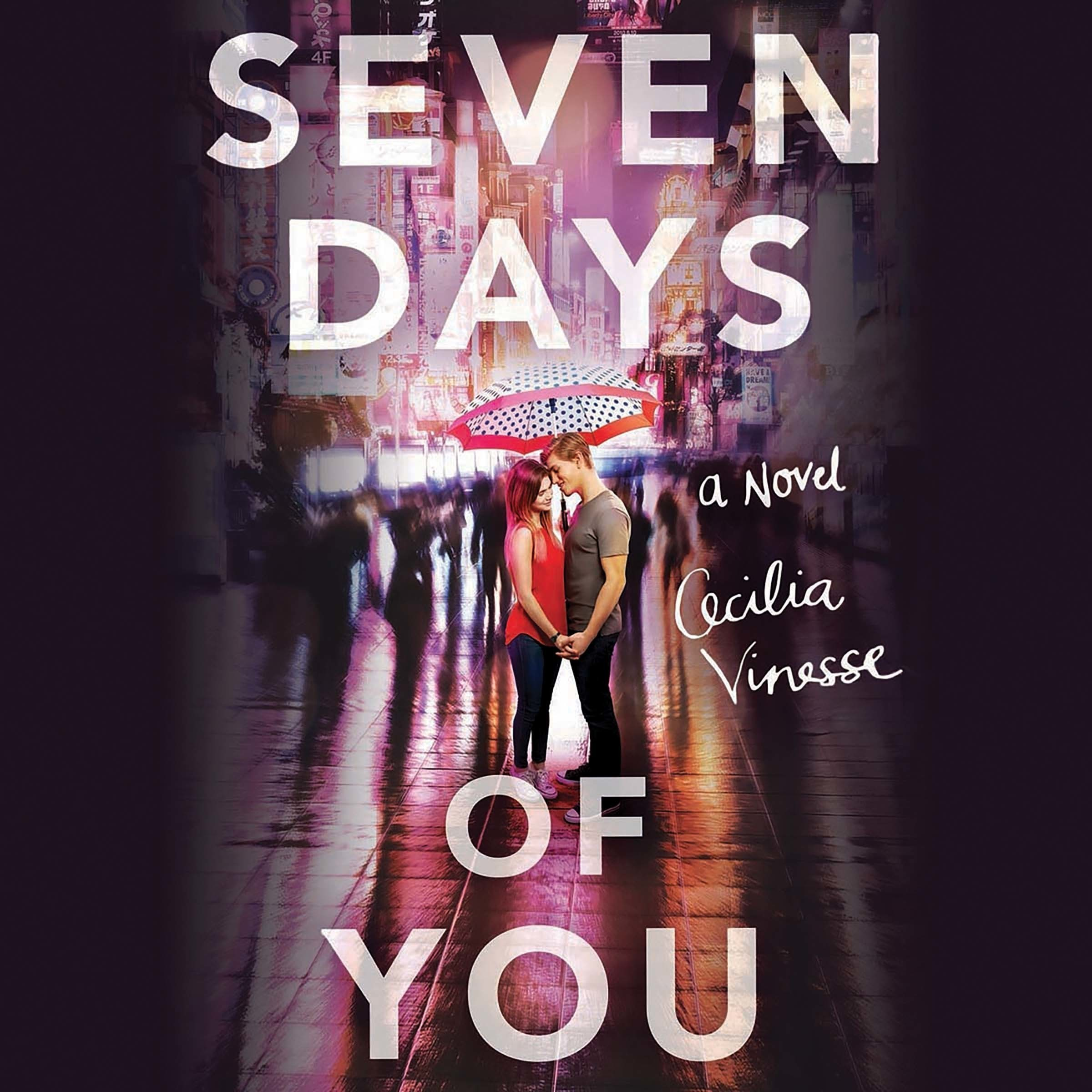Printable Seven Days of You Audiobook Cover Art