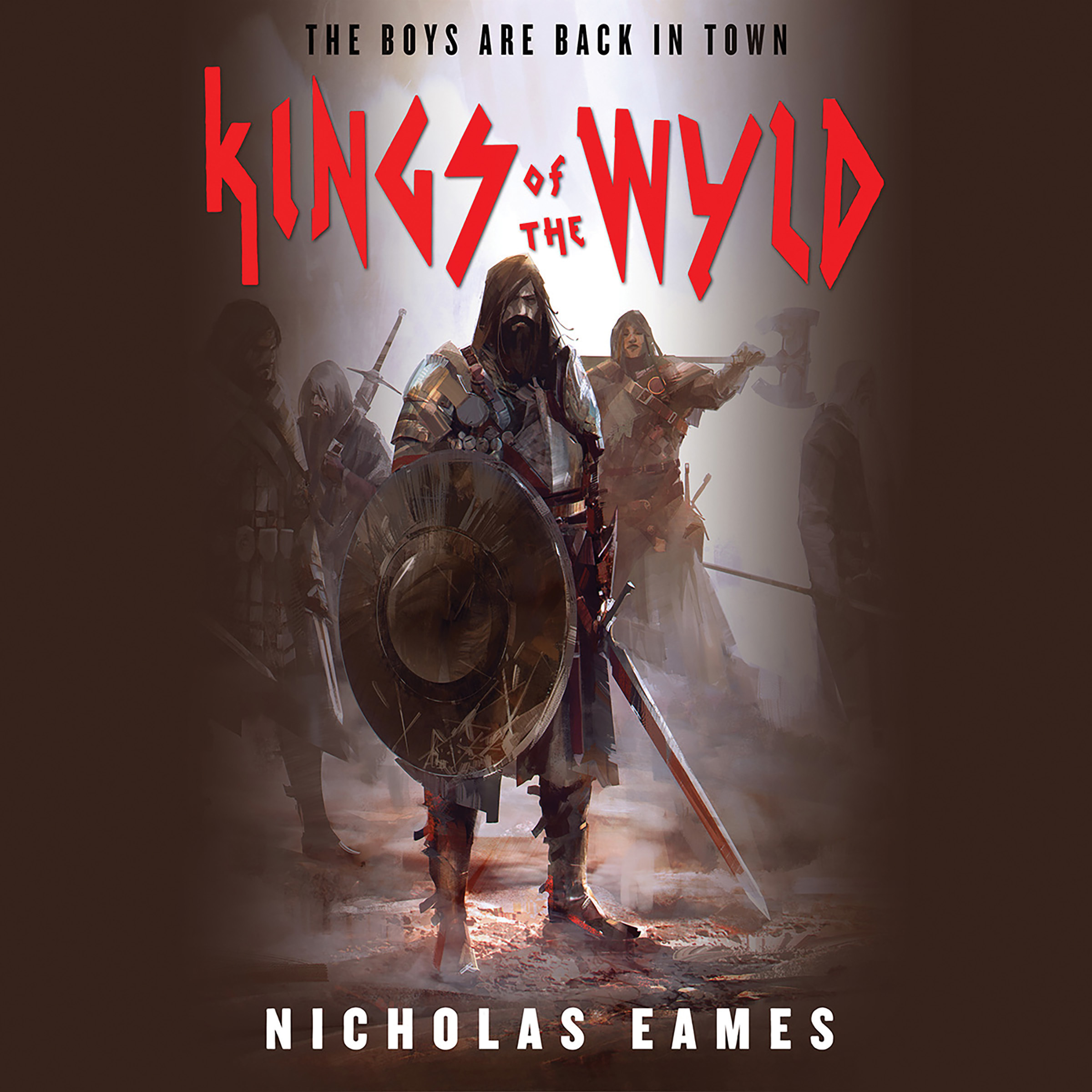 Printable Kings of the Wyld Audiobook Cover Art