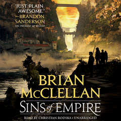 Sins of Empire Audiobook, by Brian McClellan