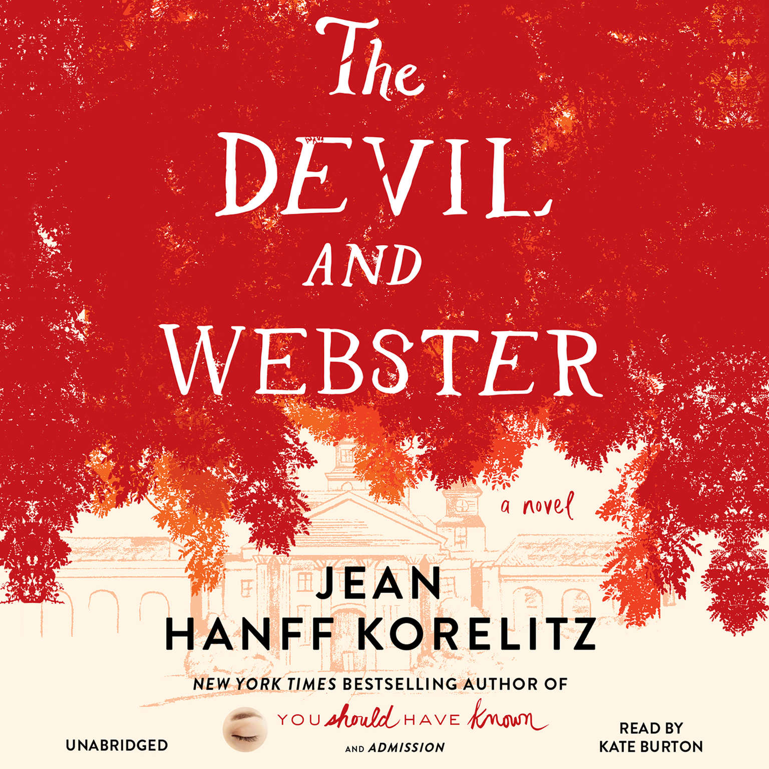 Printable The Devil and Webster Audiobook Cover Art