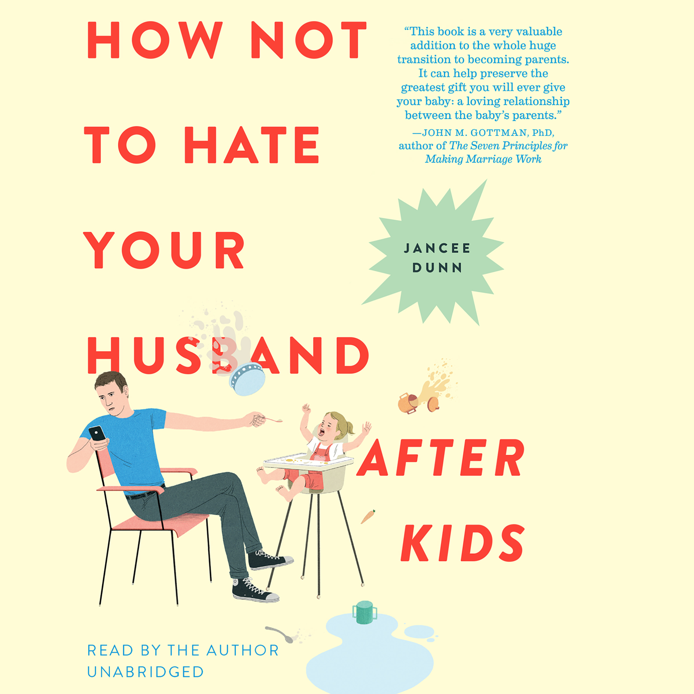 Printable How Not to Hate Your Husband After Kids Audiobook Cover Art
