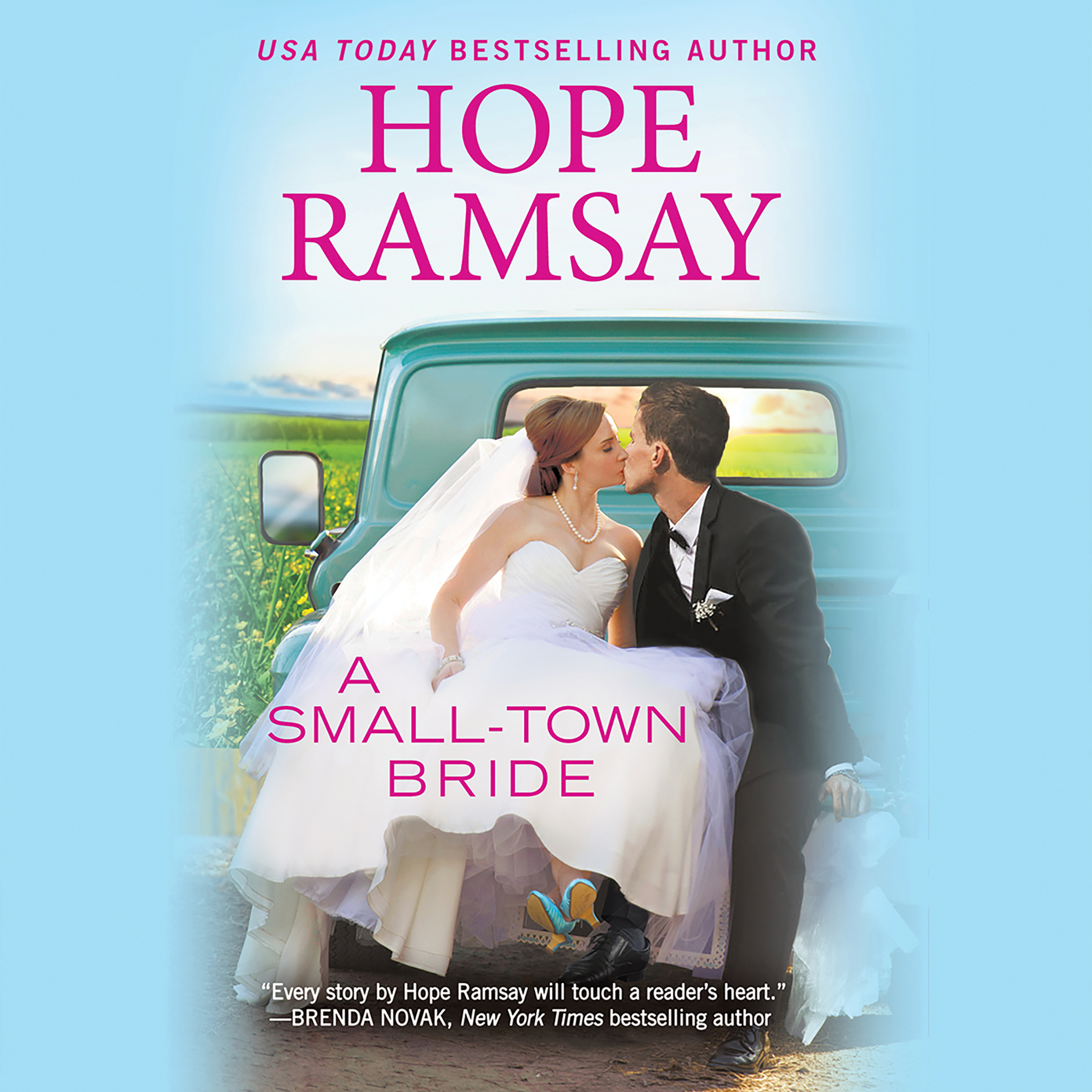 Printable A Small-Town Bride Audiobook Cover Art