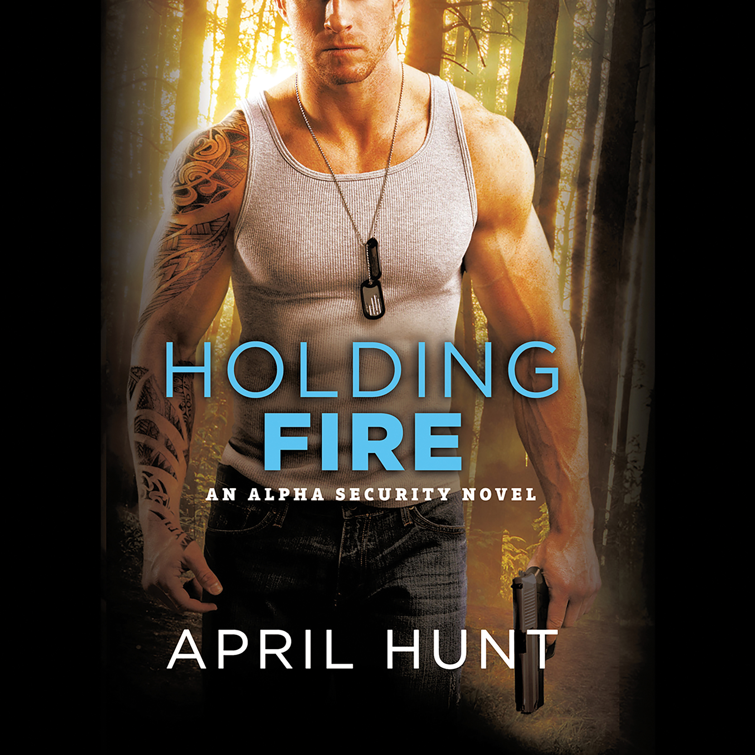 Printable Holding Fire Audiobook Cover Art
