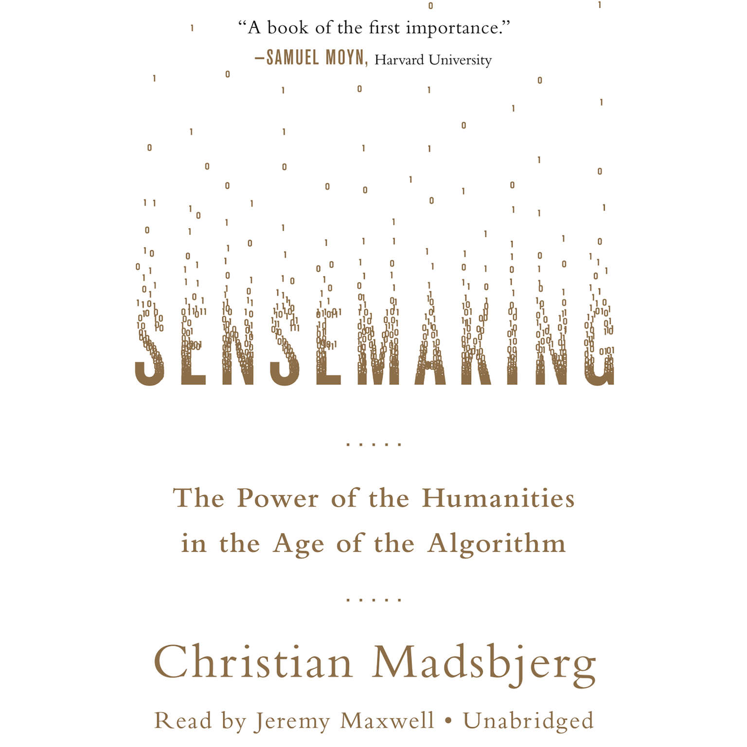 Printable Sensemaking: The Power of the Humanities in the Age of the Algorithm Audiobook Cover Art