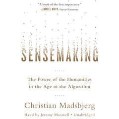 Sensemaking: The Power of the Humanities in the Age of the Algorithm Audiobook, by Christian Madsbjerg