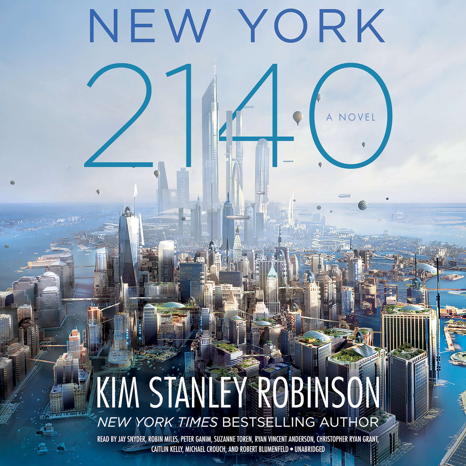 Printable New York 2140 Audiobook Cover Art