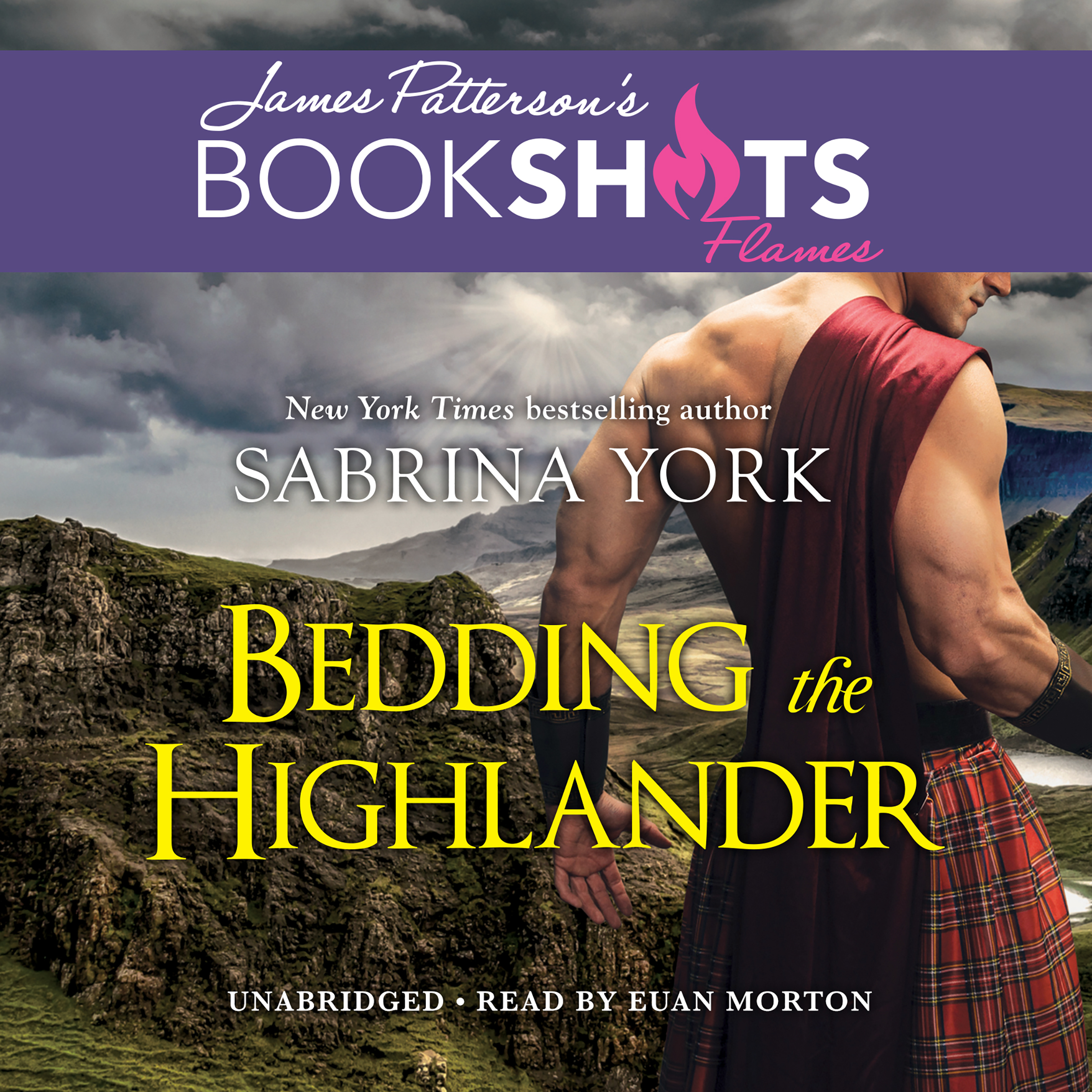 Printable Bedding the Highlander Audiobook Cover Art