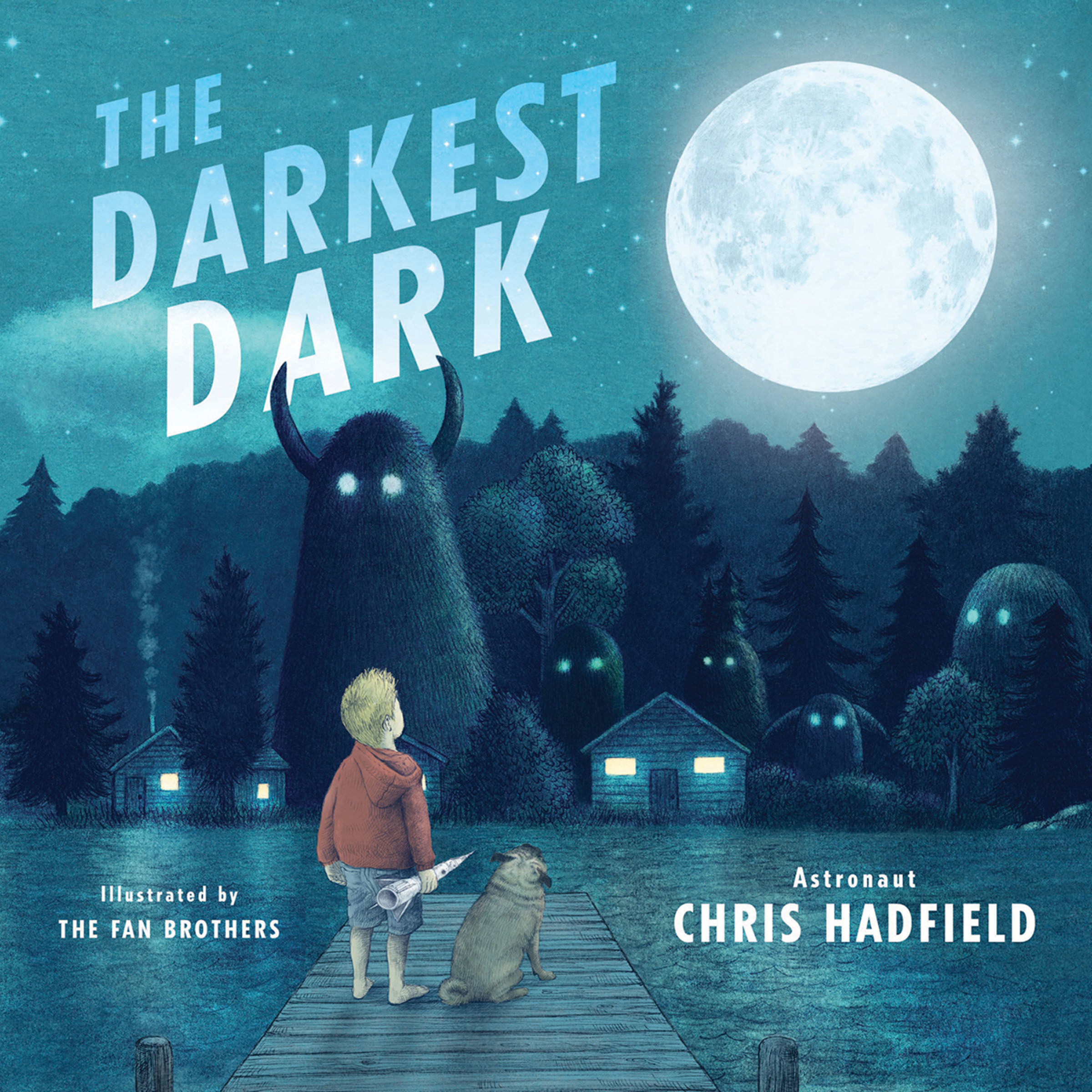 Printable The Darkest Dark Audiobook Cover Art