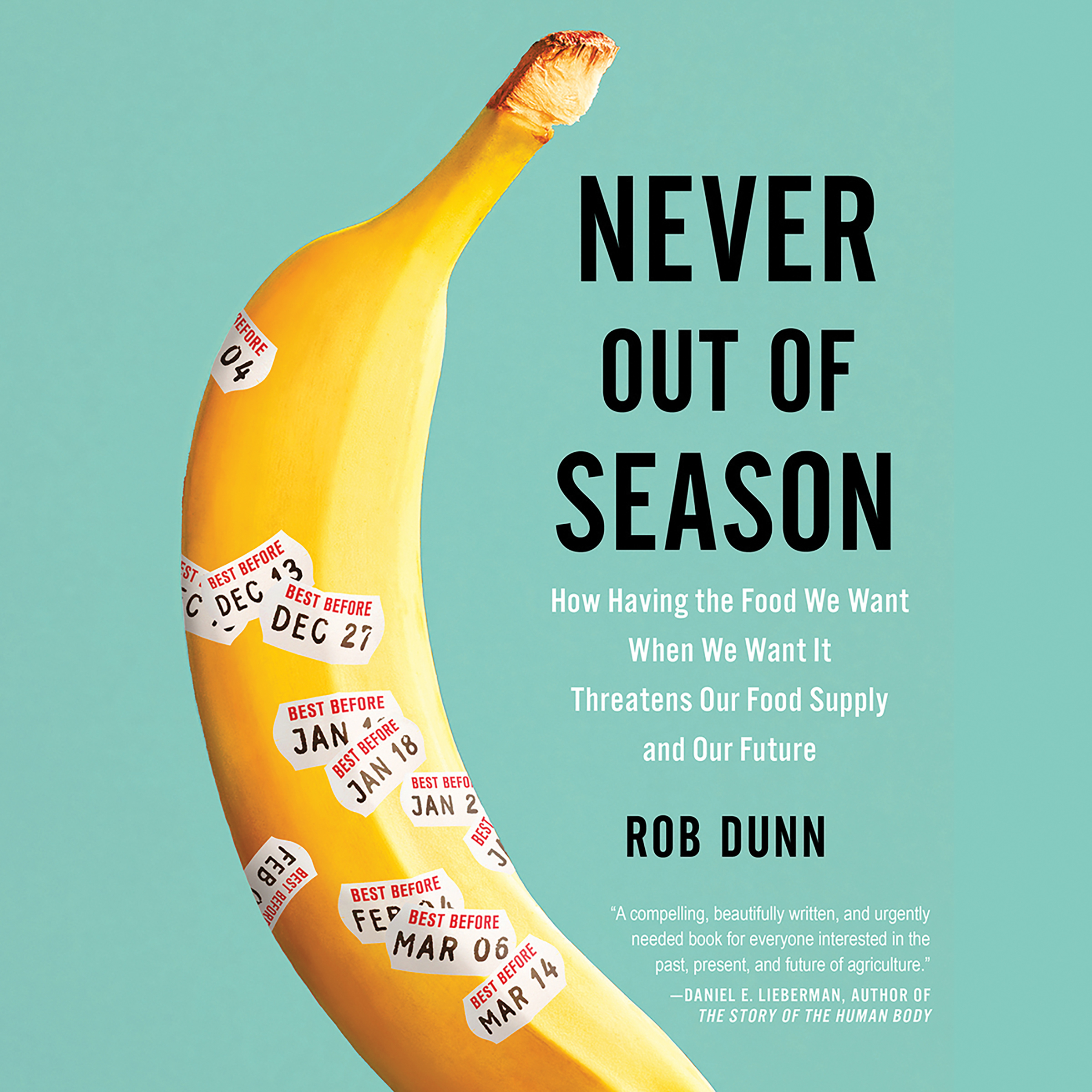 Printable Never Out of Season: How Having the Food We Want When We Want It Threatens Our Food Supply and Our Future Audiobook Cover Art