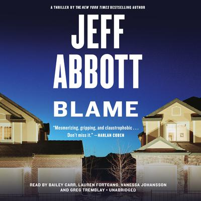 Blame Audiobook, by Jeff Abbott