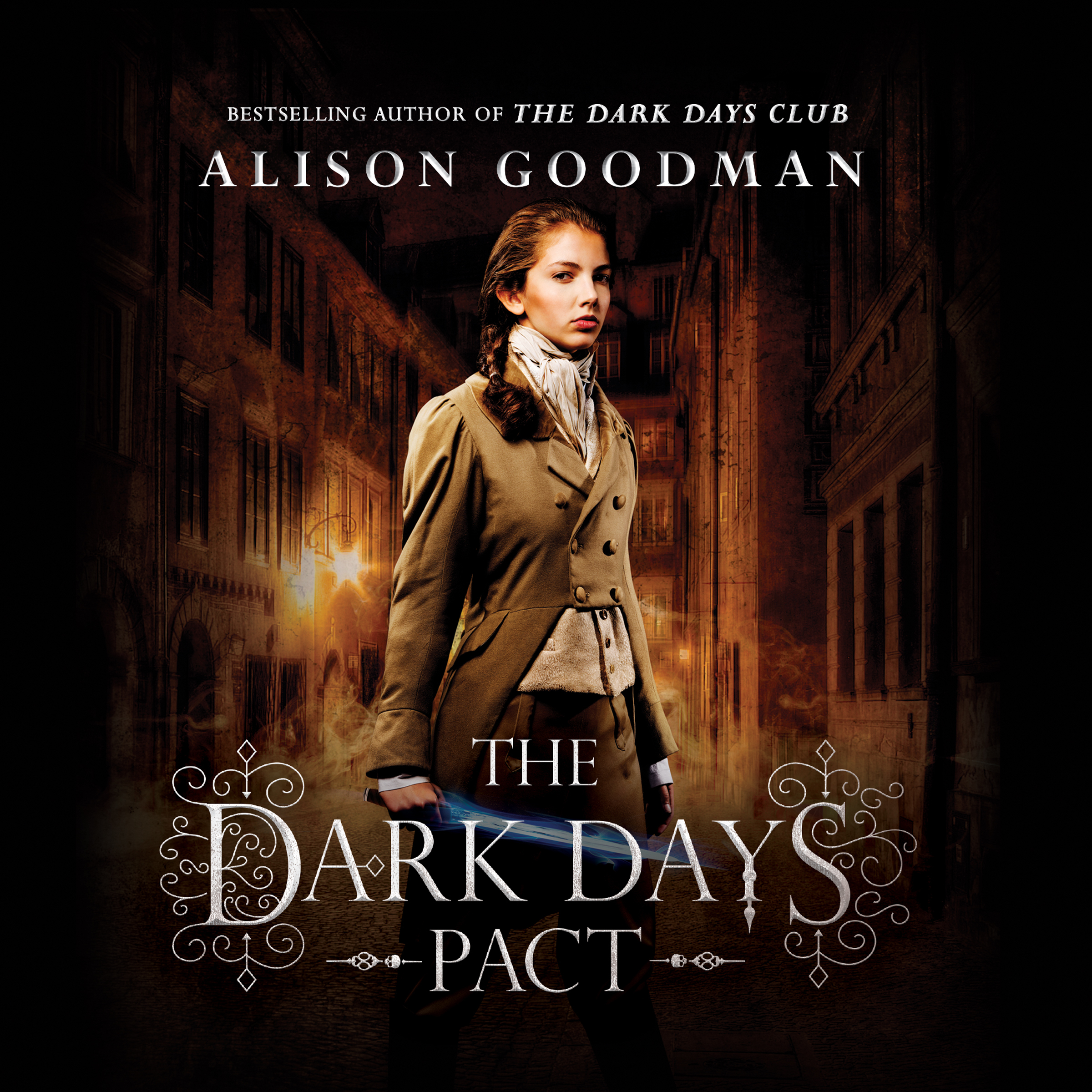 Printable The Dark Days Pact Audiobook Cover Art
