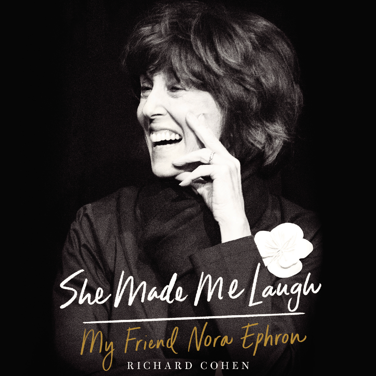 Printable She Made Me Laugh: My Friend Nora Ephron Audiobook Cover Art