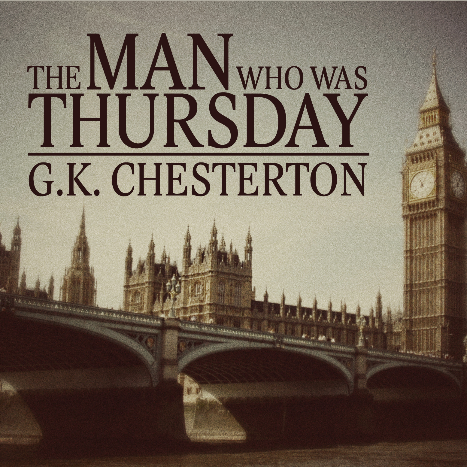 Printable The Man Who Was Thursday Audiobook Cover Art