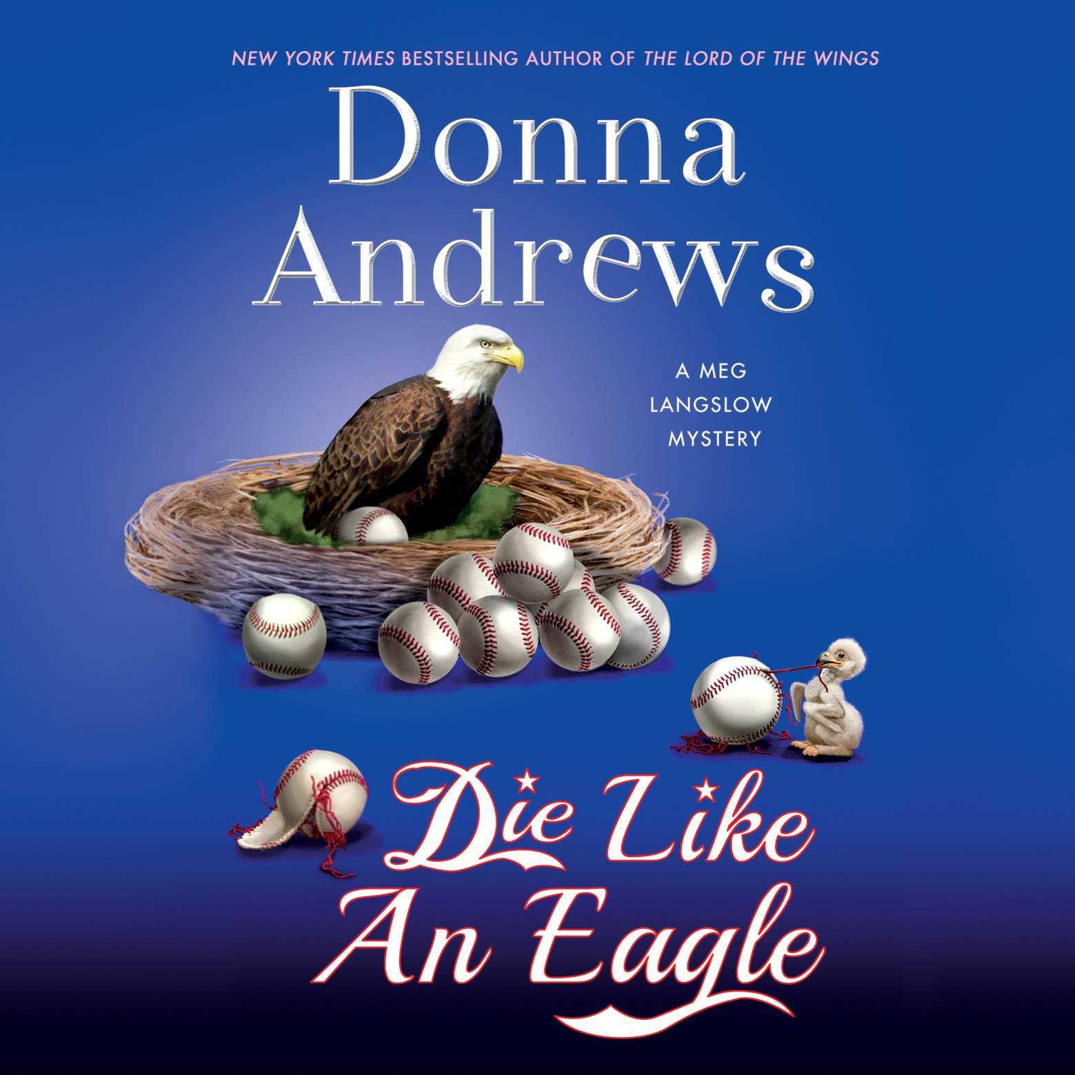 Printable Die Like an Eagle Audiobook Cover Art