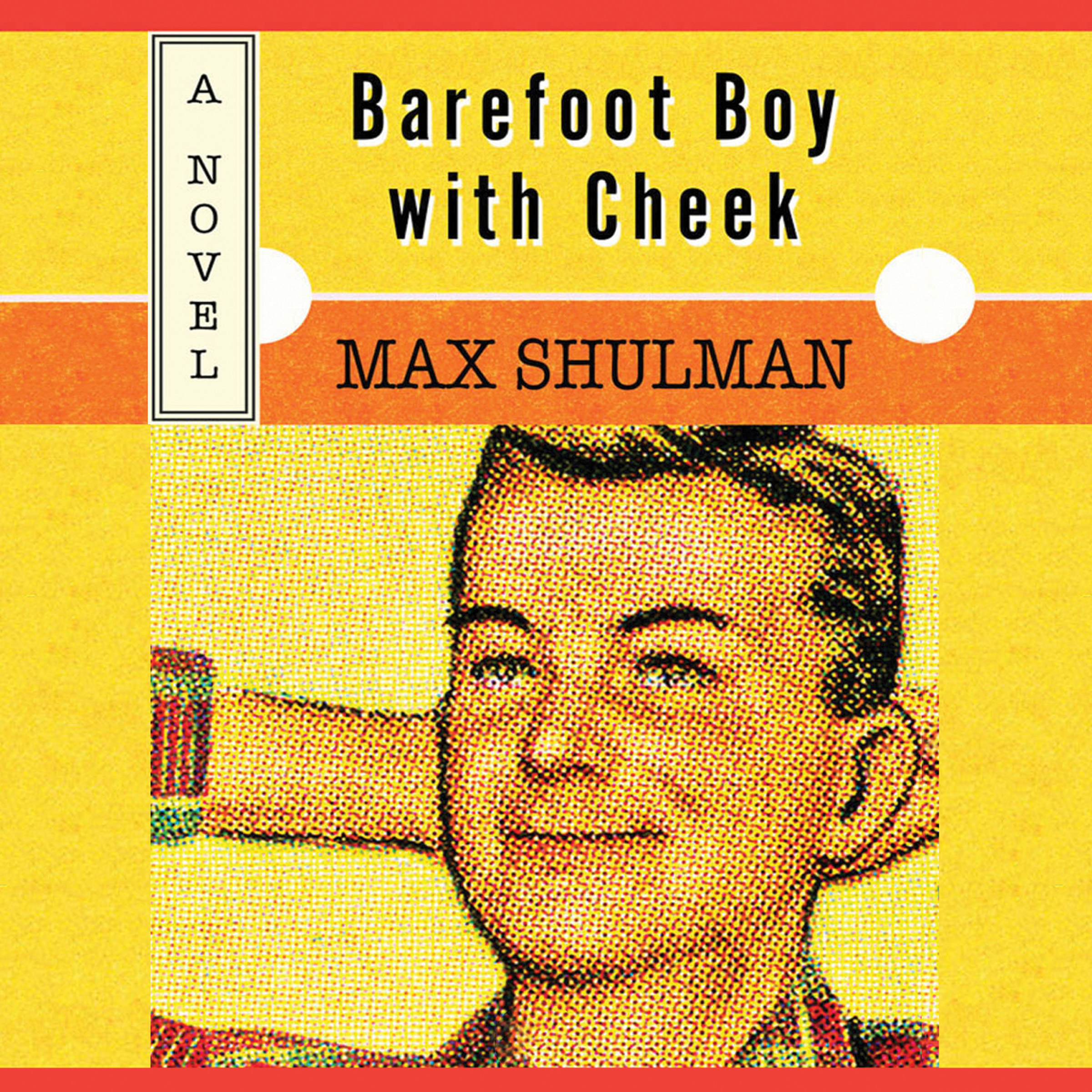 Printable Barefoot Boy with Cheek Audiobook Cover Art