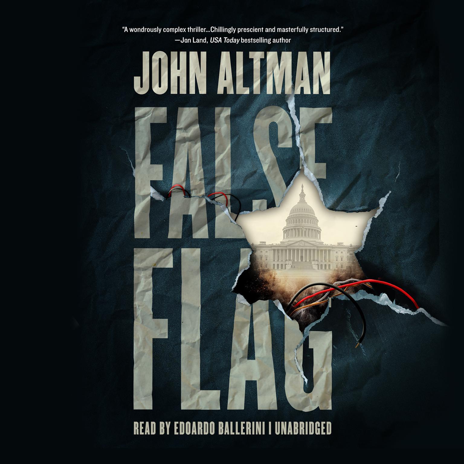 Printable False Flag Audiobook Cover Art