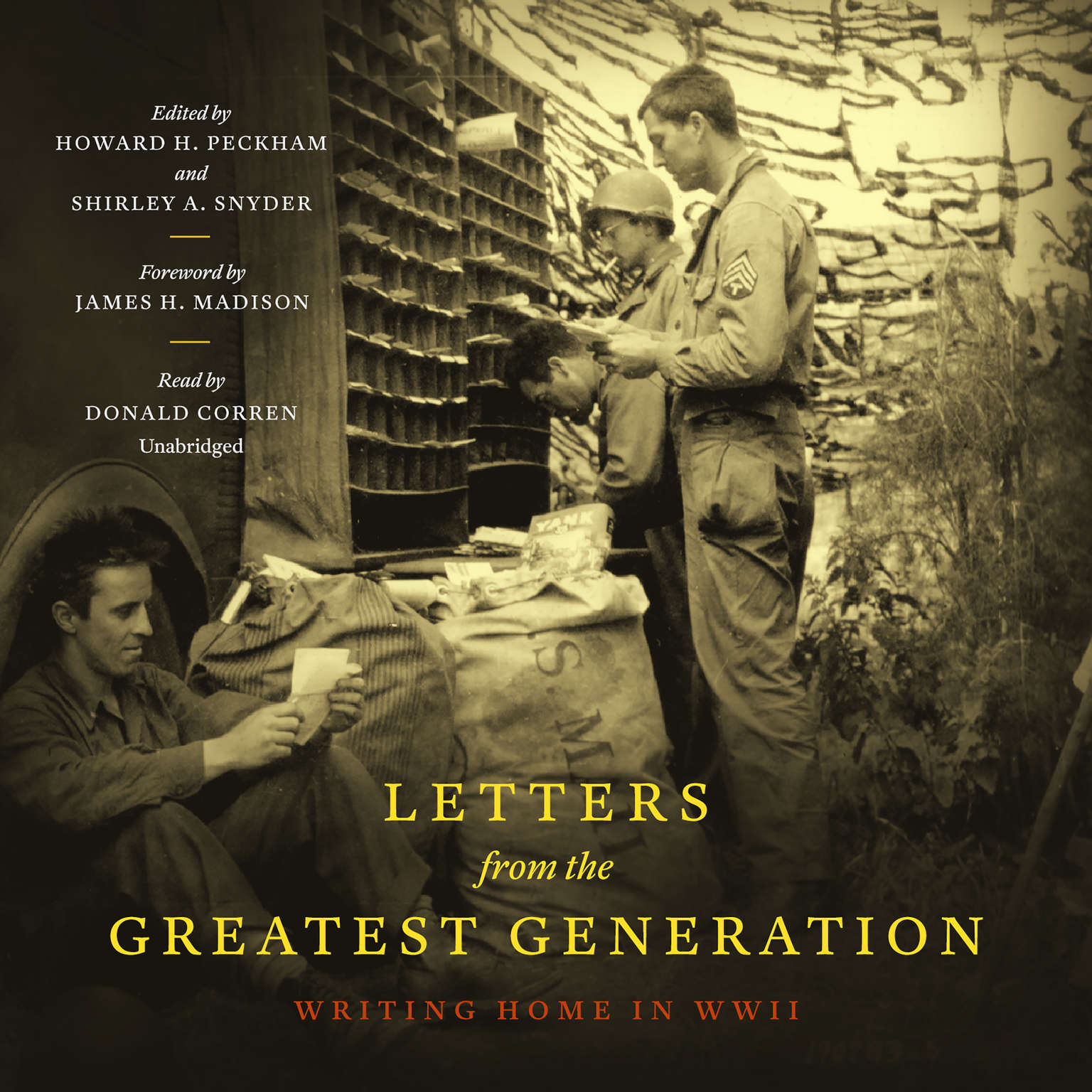 Printable Letters from the Greatest Generation: Writing Home in WWII Audiobook Cover Art