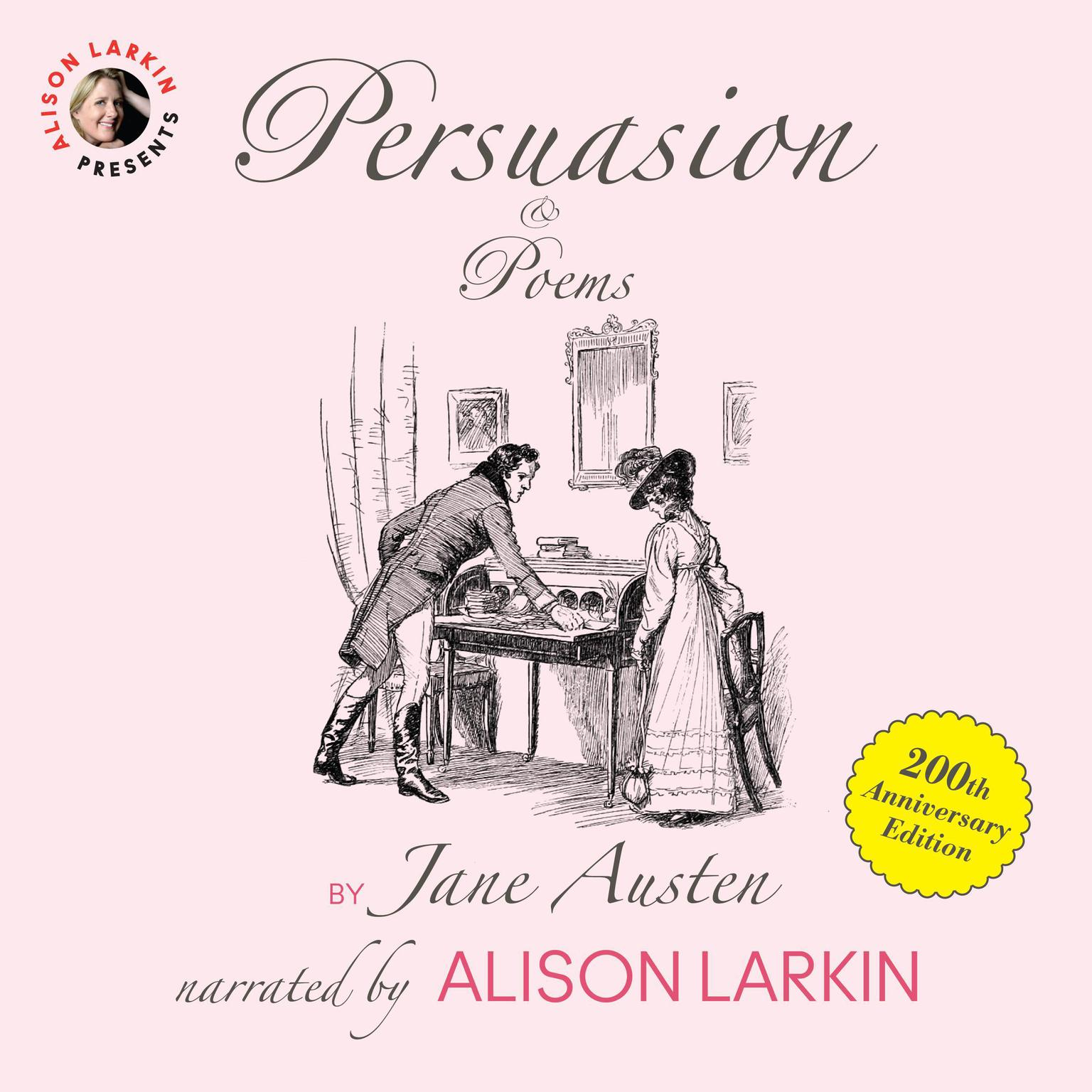 Printable Persuasion and Poems Audiobook Cover Art
