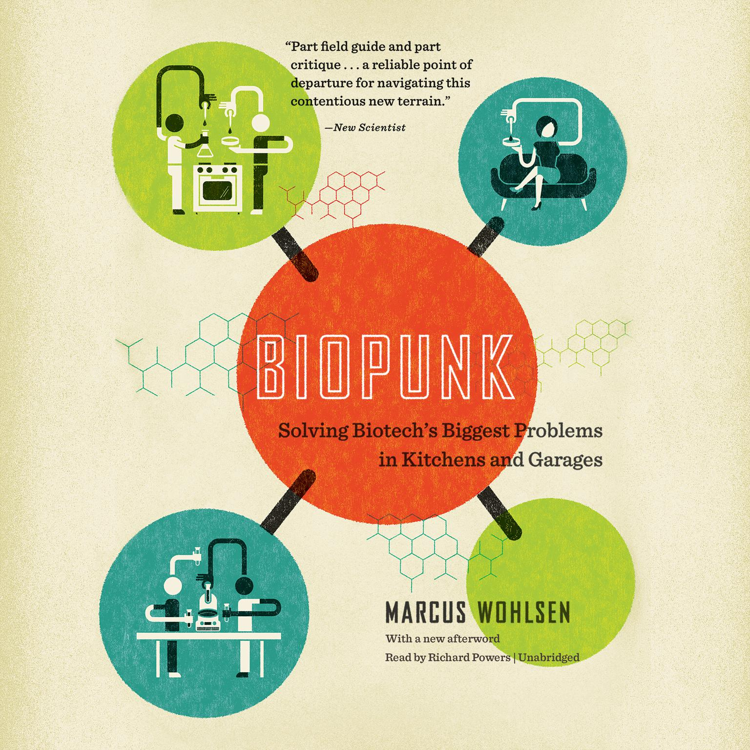 Printable Biopunk: Solving Biotech's Biggest Problems in Kitchens and Garages Audiobook Cover Art