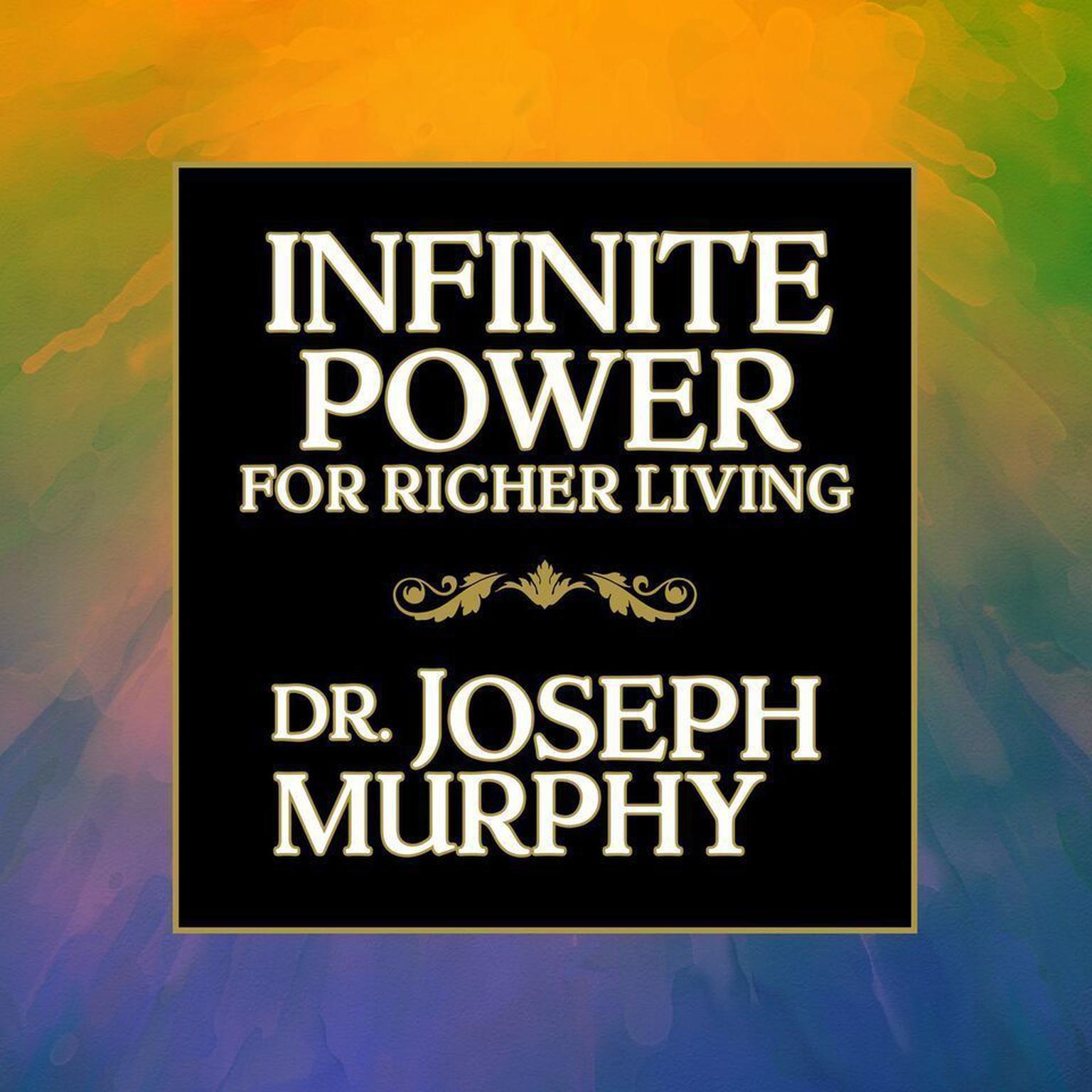 Printable Infinite Power for Richer Living Audiobook Cover Art