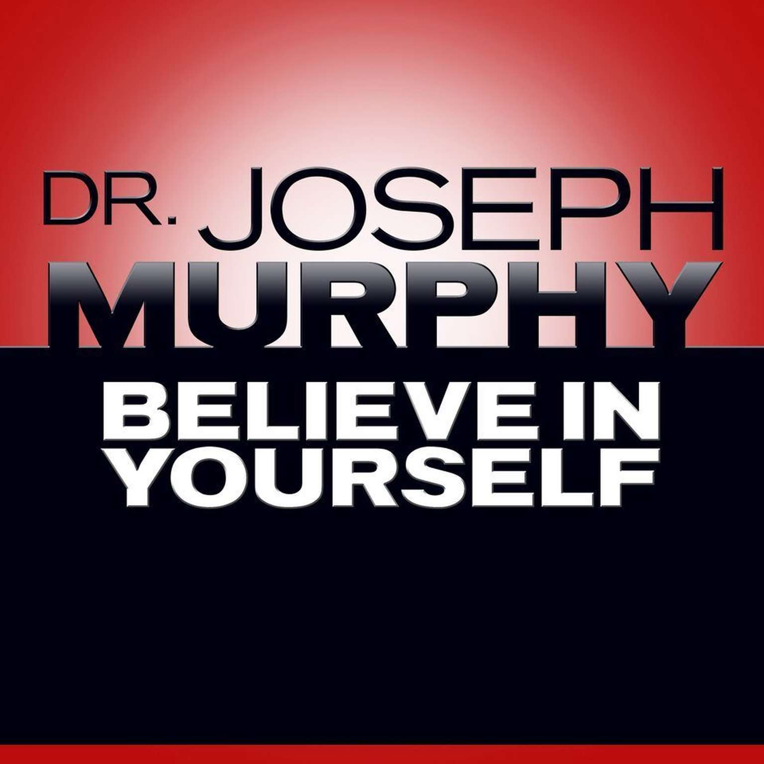 Printable Believe In Yourself Audiobook Cover Art