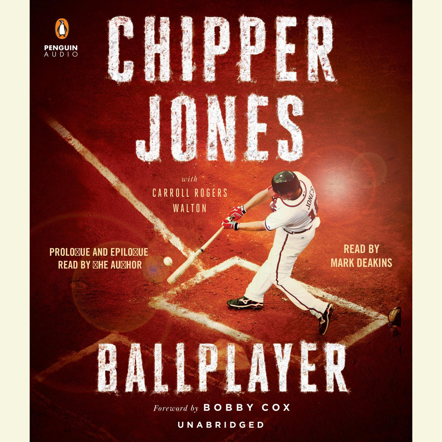 Printable Ballplayer Audiobook Cover Art