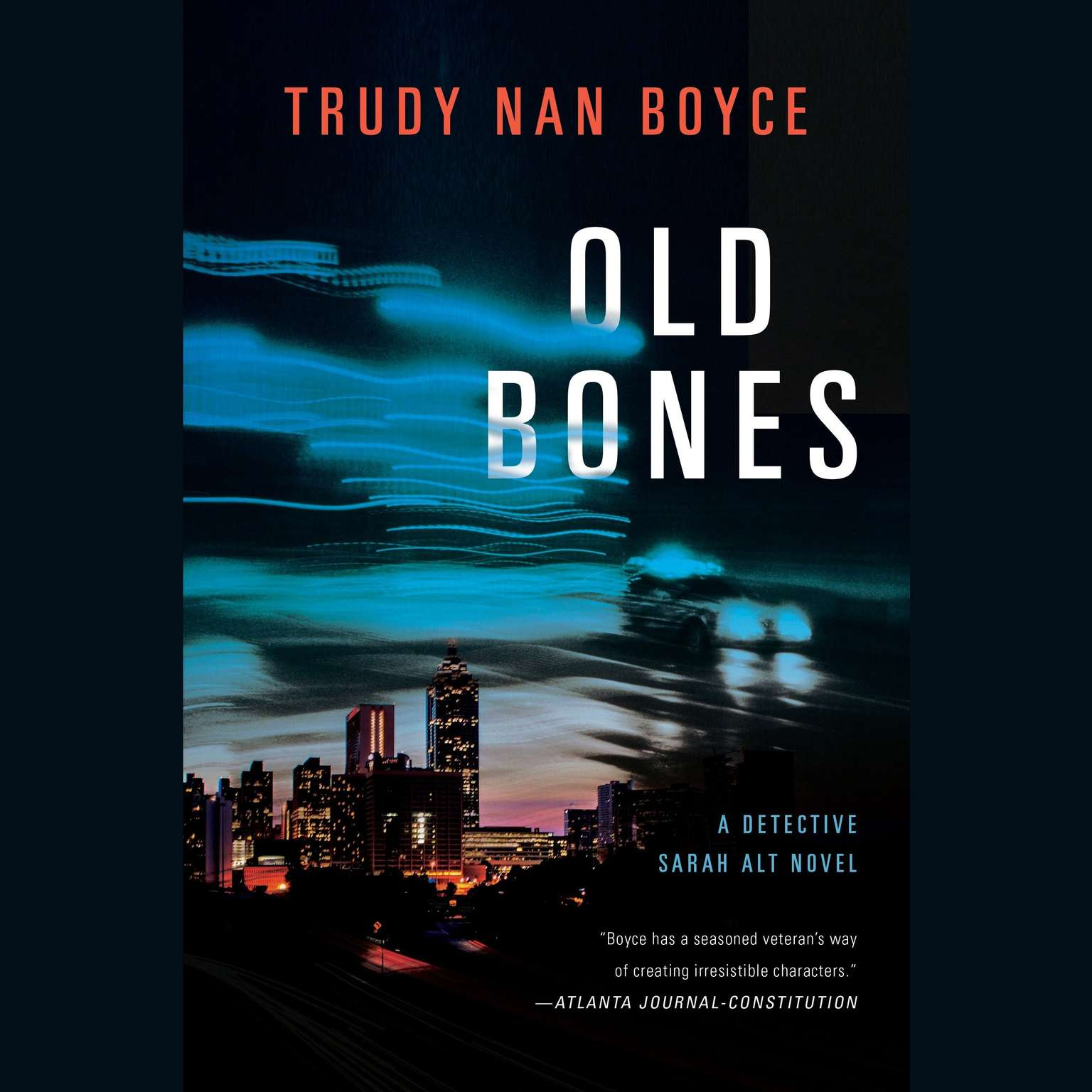 Printable Old Bones Audiobook Cover Art