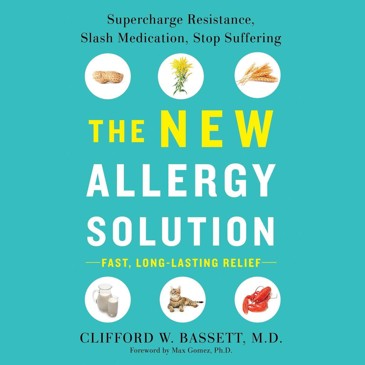 Printable The New Allergy Solution: Supercharge Resistance, Slash Medication, Stop Suffering Audiobook Cover Art