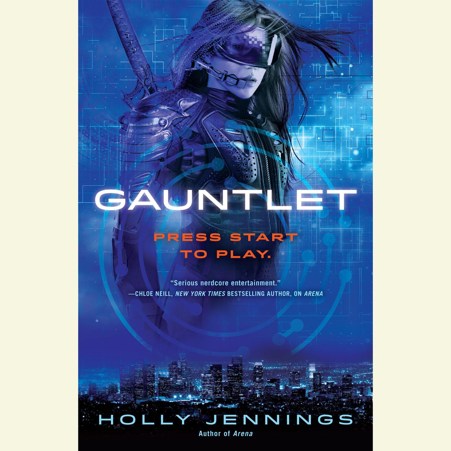 Printable Gauntlet Audiobook Cover Art