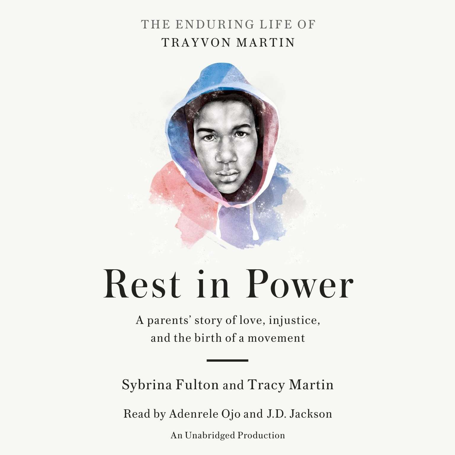 Printable Rest in Power: The Enduring Life of Trayvon Martin Audiobook Cover Art