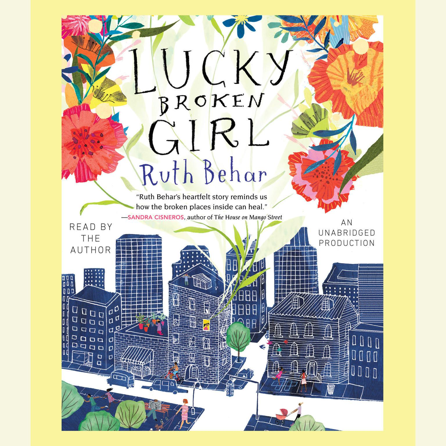 Printable Lucky Broken Girl Audiobook Cover Art