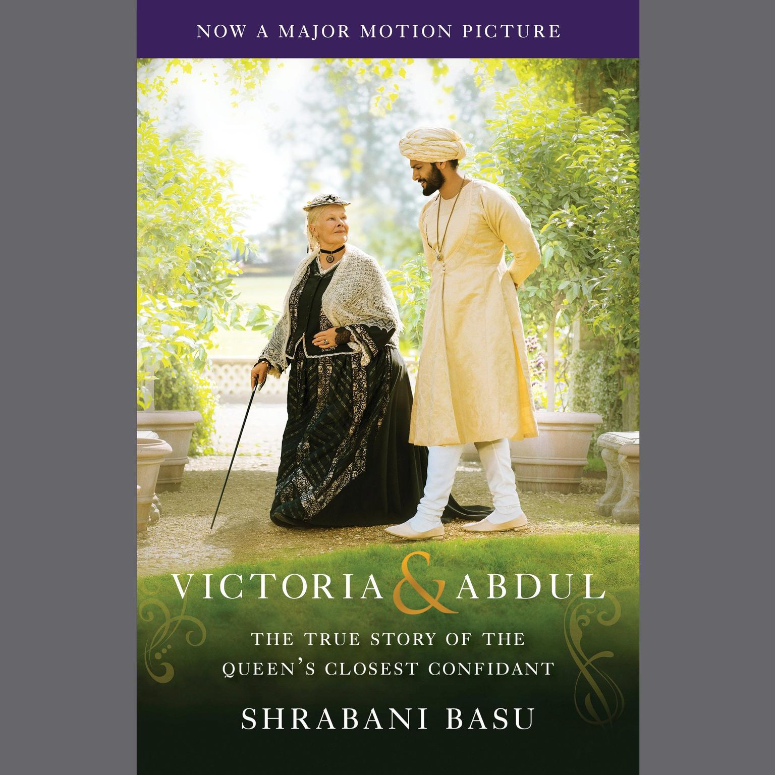 Printable Victoria & Abdul (Movie Tie-in): The True Story of the Queen's Closest Confidant Audiobook Cover Art