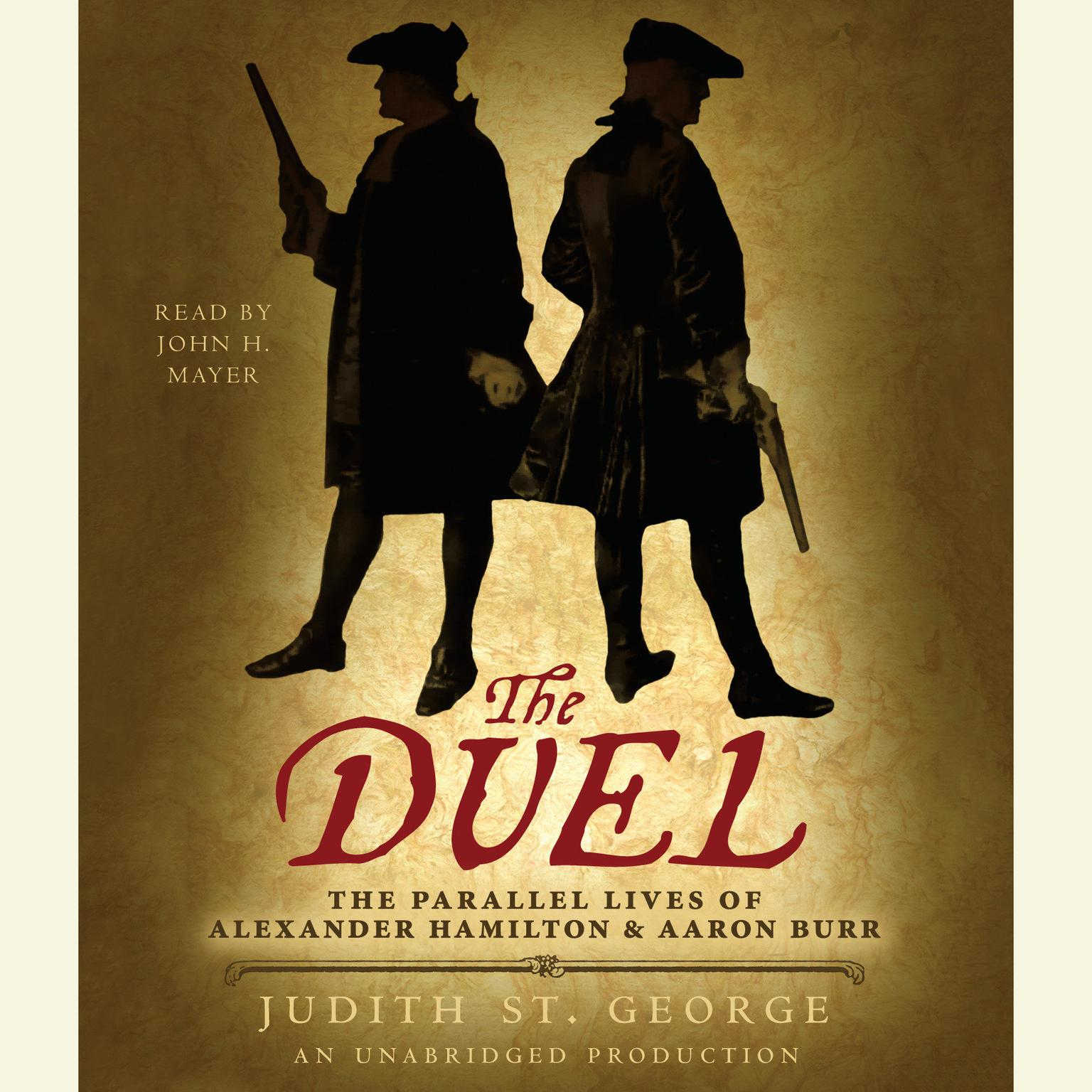 Printable The Duel: The Parallel Lives of Alexander Hamilton and Aaron Burr Audiobook Cover Art