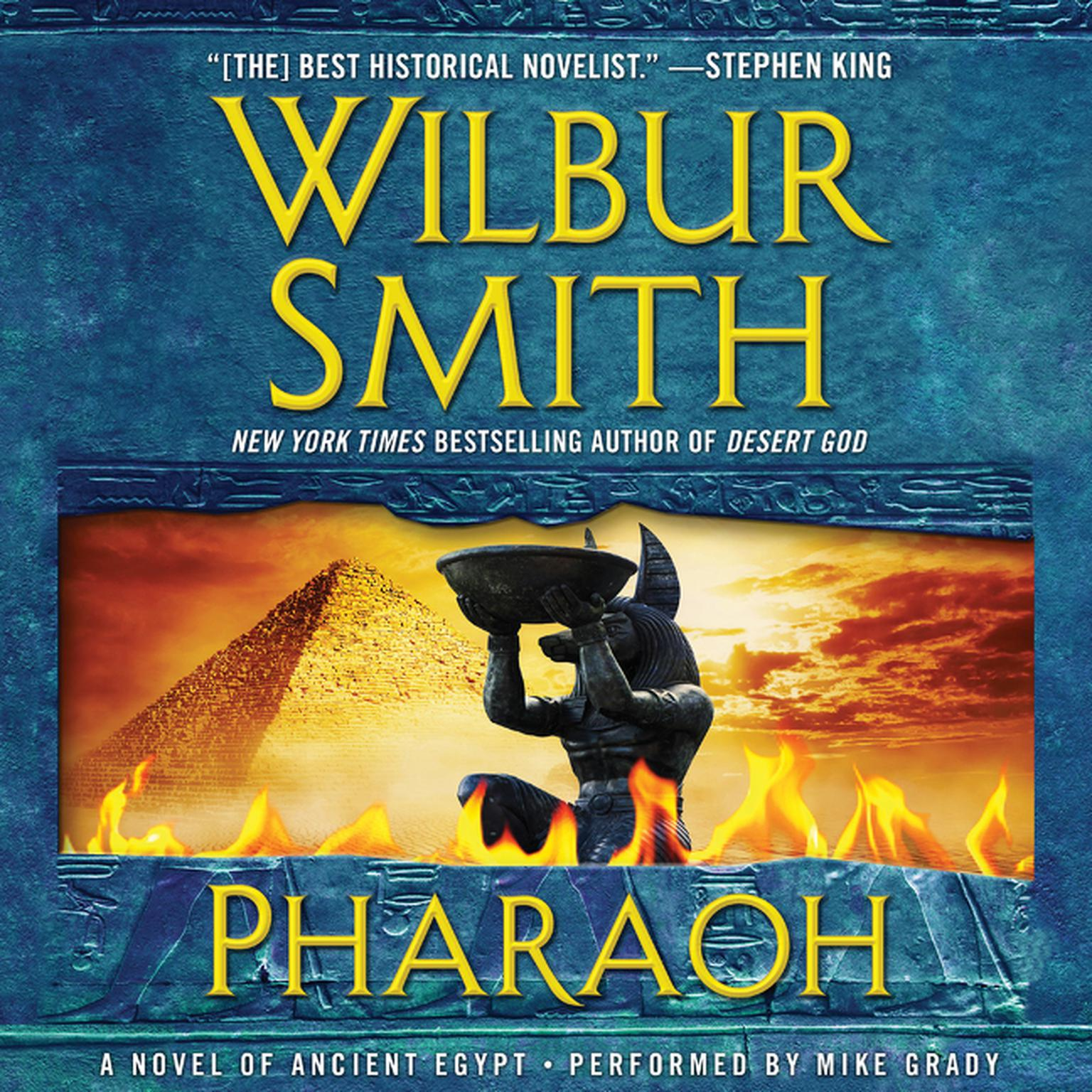 Printable Pharaoh: A Novel of Ancient Egypt Audiobook Cover Art