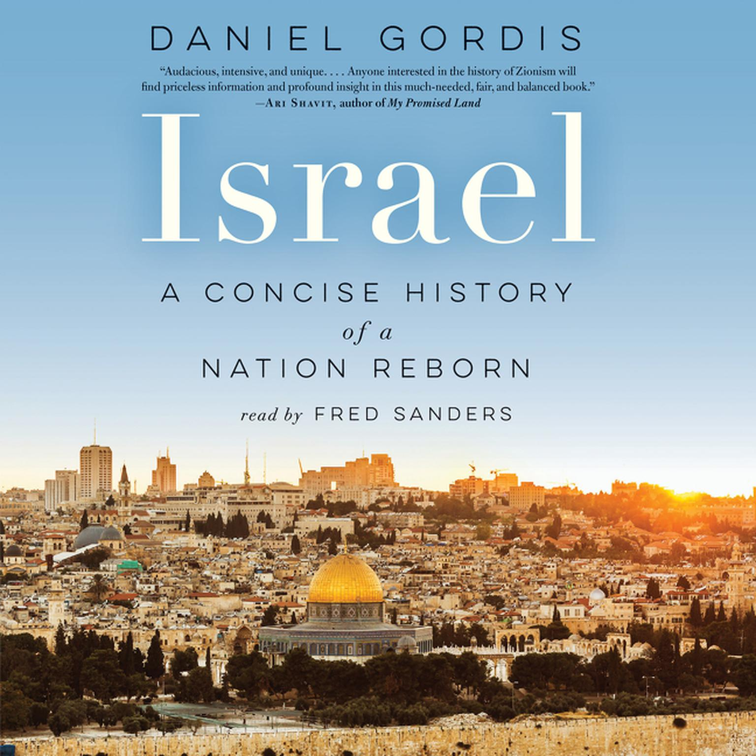 Printable Israel: A Concise History of a Nation Reborn Audiobook Cover Art