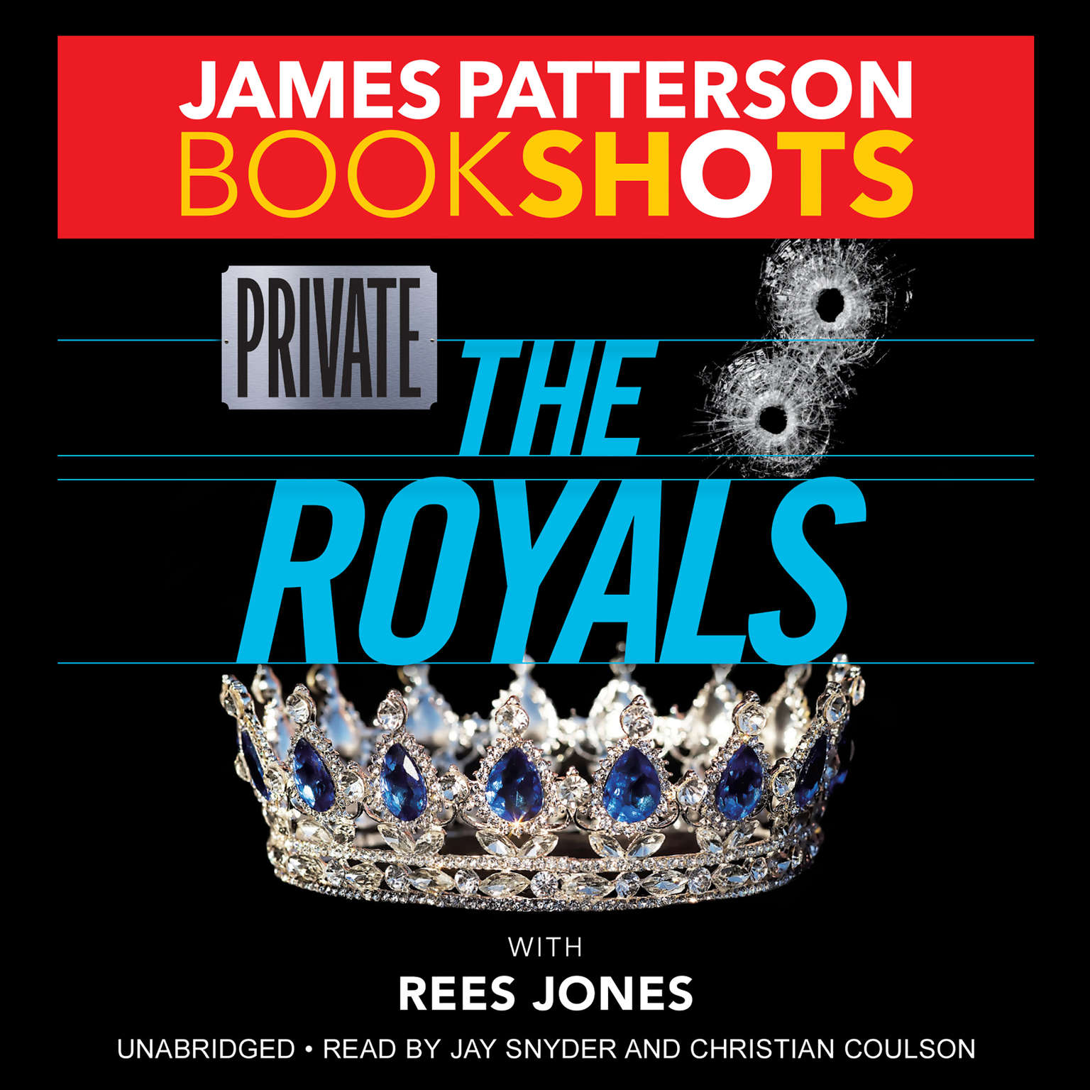 Printable Private: The Royals Audiobook Cover Art