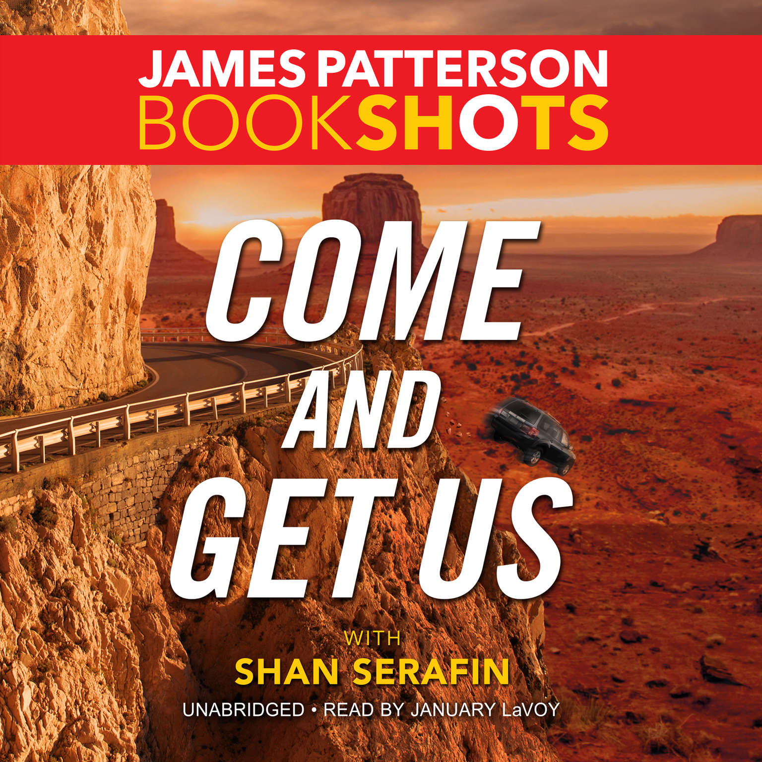 Printable Come and Get Us Audiobook Cover Art