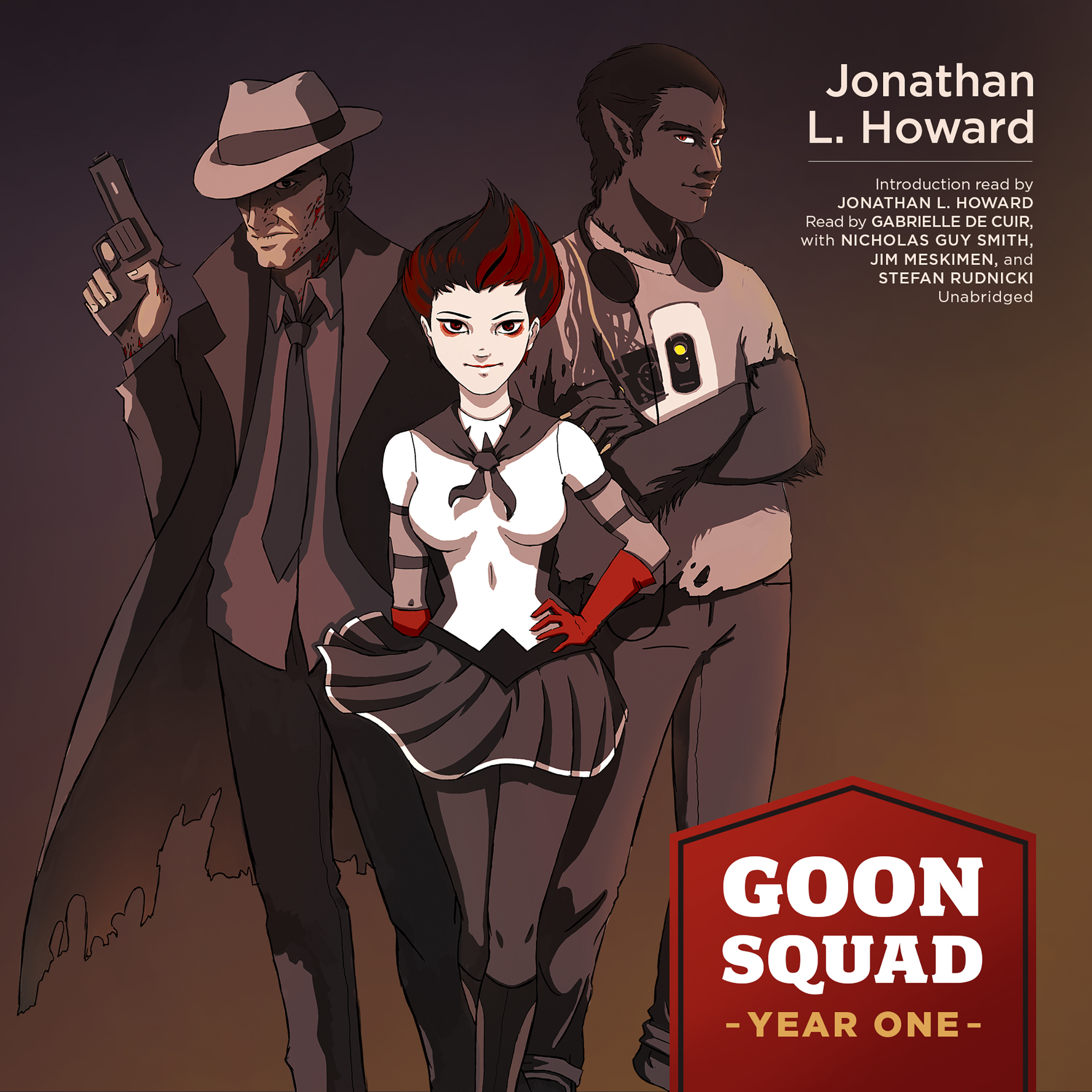 Printable Goon Squad: Year One Audiobook Cover Art