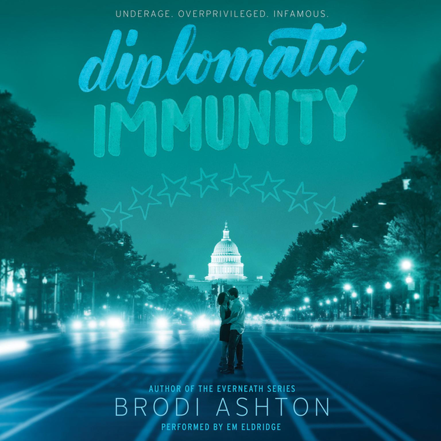 Printable Diplomatic Immunity Audiobook Cover Art