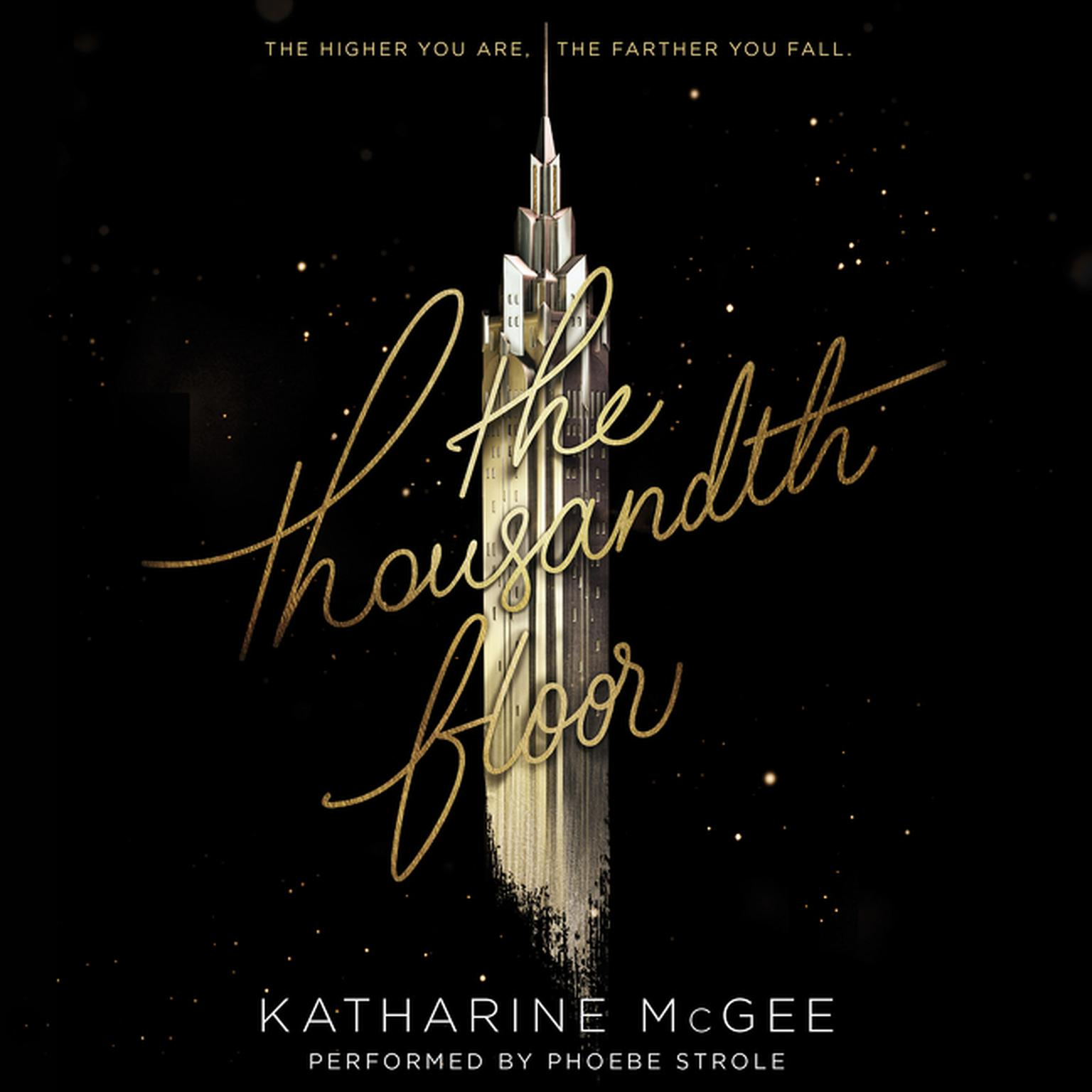 Printable The Thousandth Floor  Audiobook Cover Art