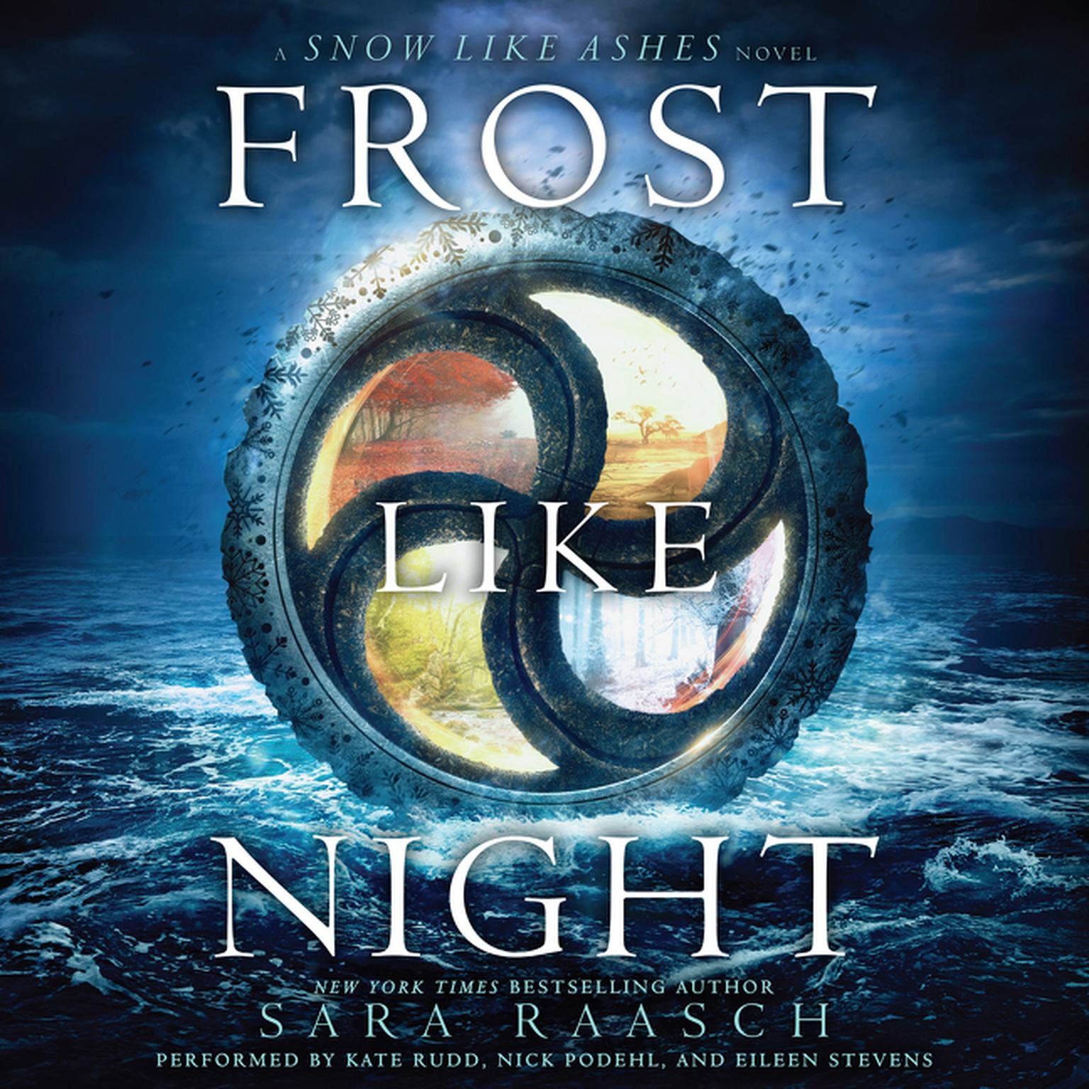 Printable Frost like Night Audiobook Cover Art