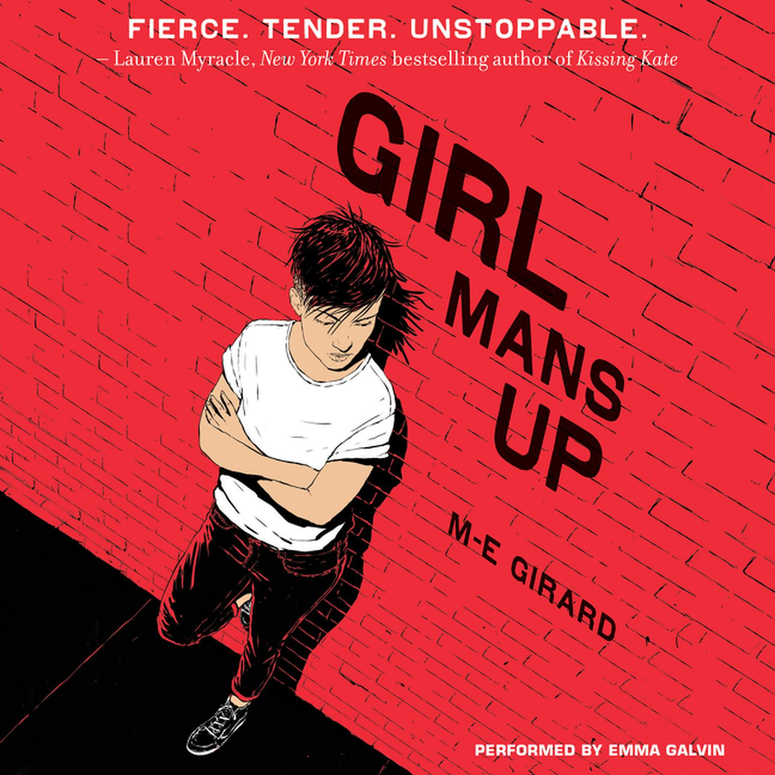 Printable Girl Mans Up Audiobook Cover Art
