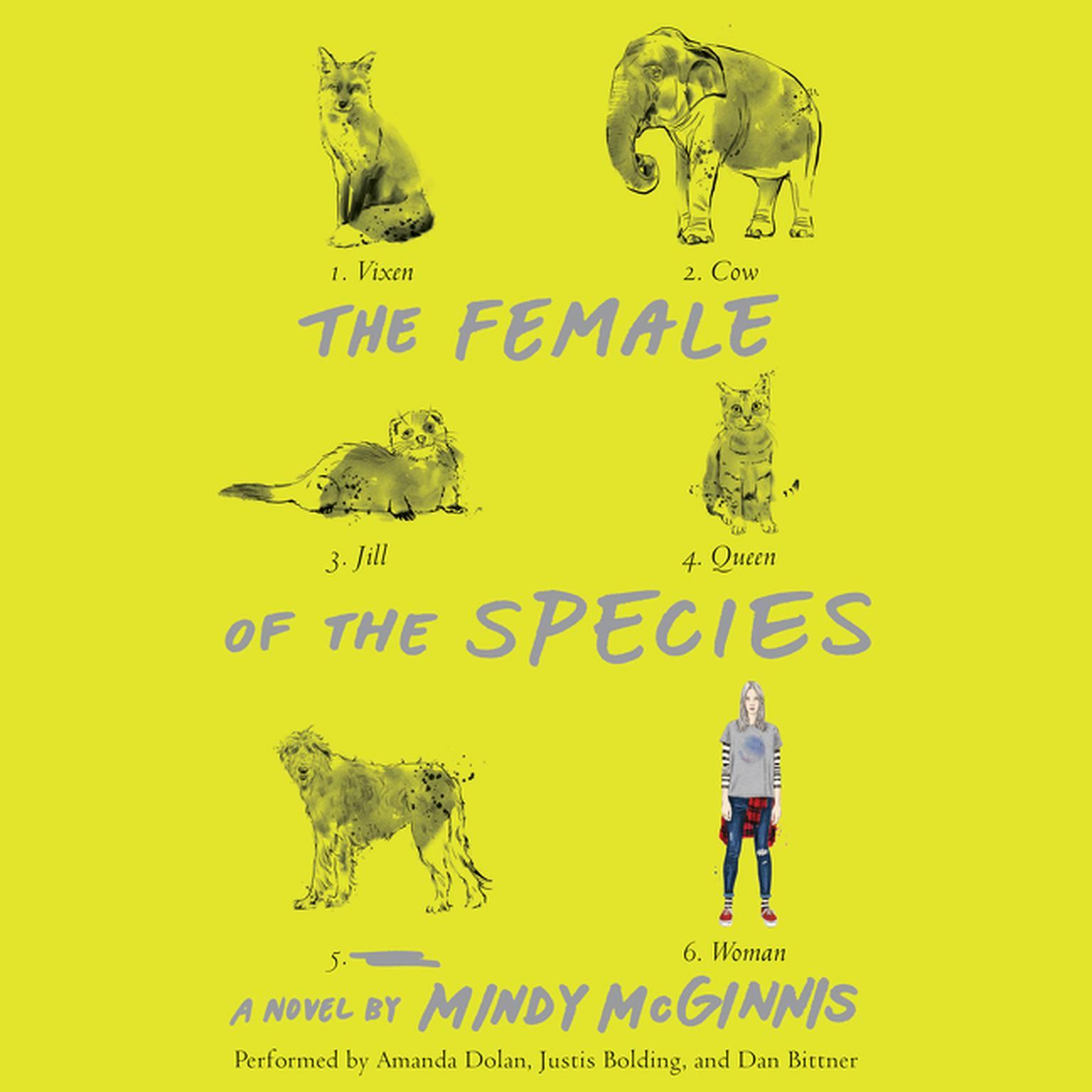 Printable The Female of the Species  Audiobook Cover Art