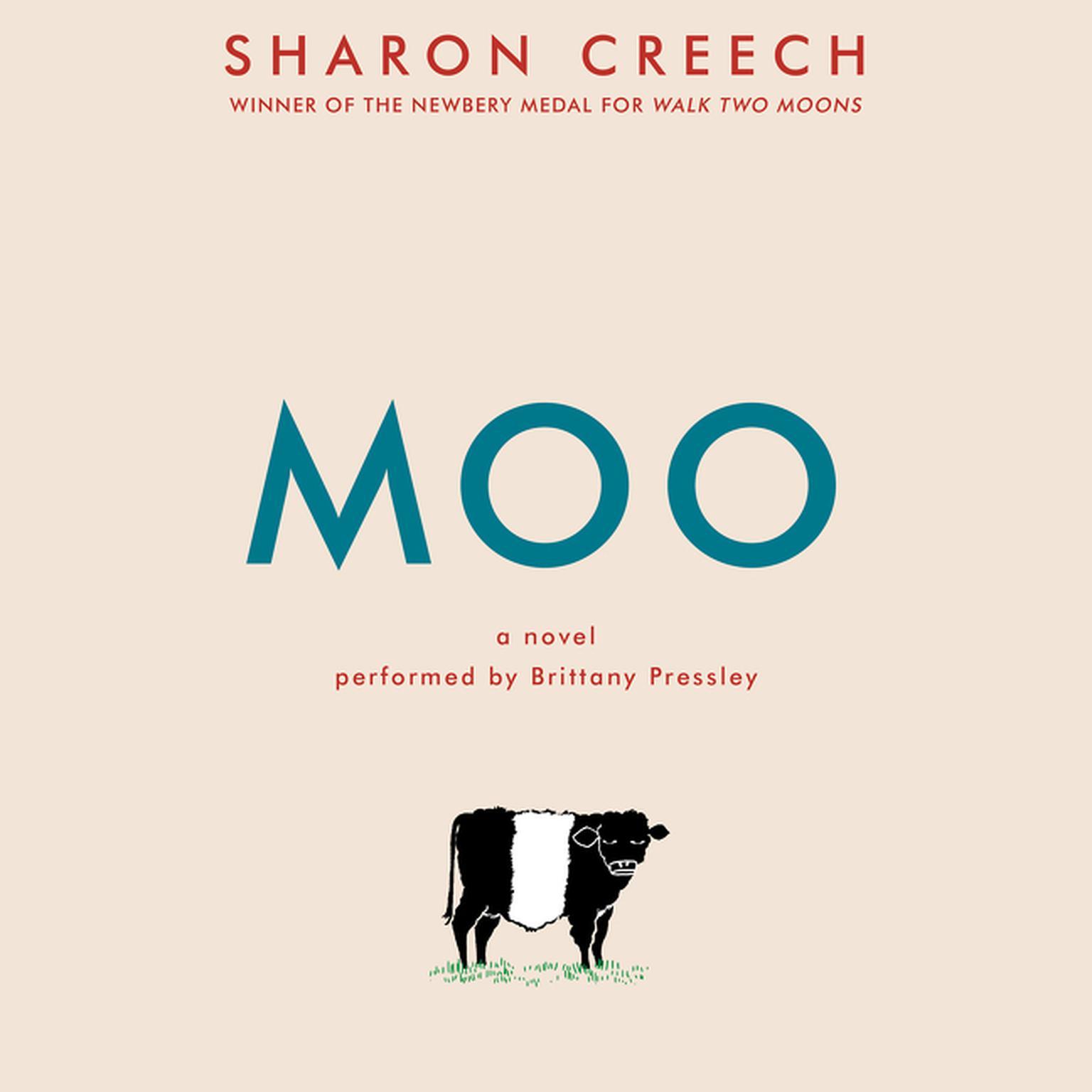Printable Moo: A Novel Audiobook Cover Art