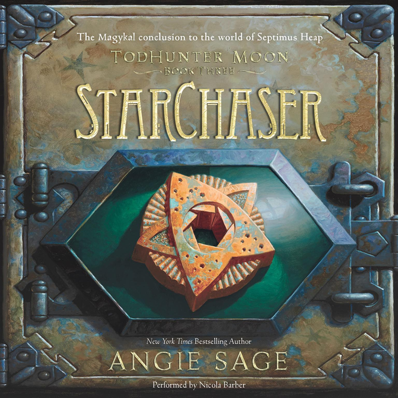 Printable StarChaser Audiobook Cover Art