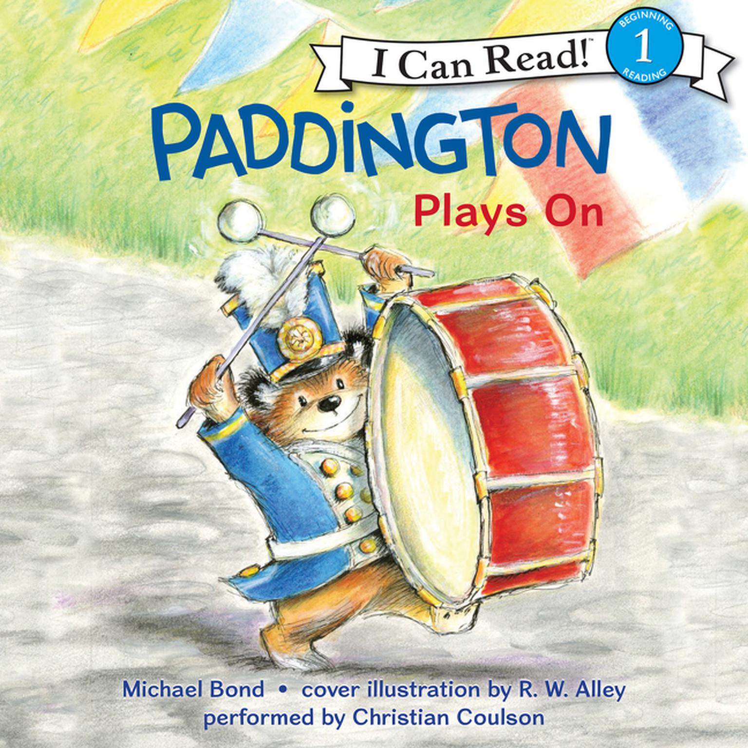 Printable Paddington Plays On Audiobook Cover Art