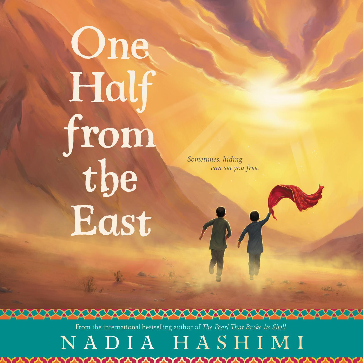 Printable One Half from the East Audiobook Cover Art