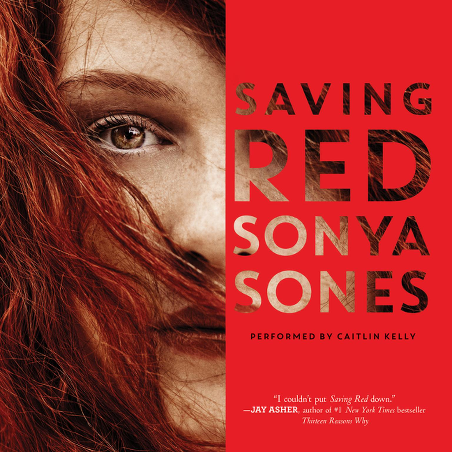 Printable Saving Red Audiobook Cover Art